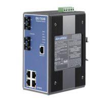 4FE + 2FE SC Jednokomponentni upravljani Ethernet preklopnik, -40 ~ 75 ° C
